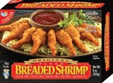 Panko Breaded Shrimp